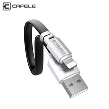 Buy Cafele USB Cable iPhone 8 8 plus Charging Cable Fast Charger Data Cable iPhone 7 6s 5s iPad Mobile Phone Cables for $1.00 in AliExpress store