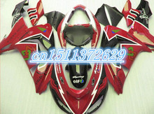 hot sales red black for KAWAAKI ZX10R 06-07 ZX-10R 2006-2007 10R 06 07 ZX 10R 2006 2007 tool part fairing(China)