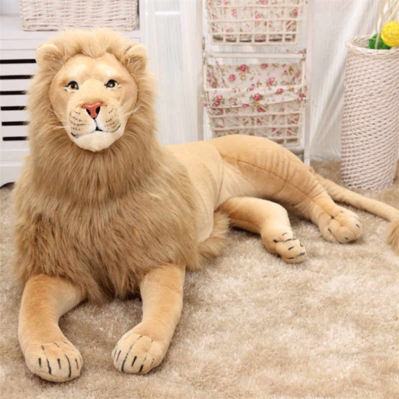 Scary Squeeze Stuffed Animals, Simulation Lion Stuffed Animal Model Giant Cushion Lion Photography Props Children S Toys Plush Toys Big Lion Creative Gifts Toy Stuffed Plush Animals Aliexpress