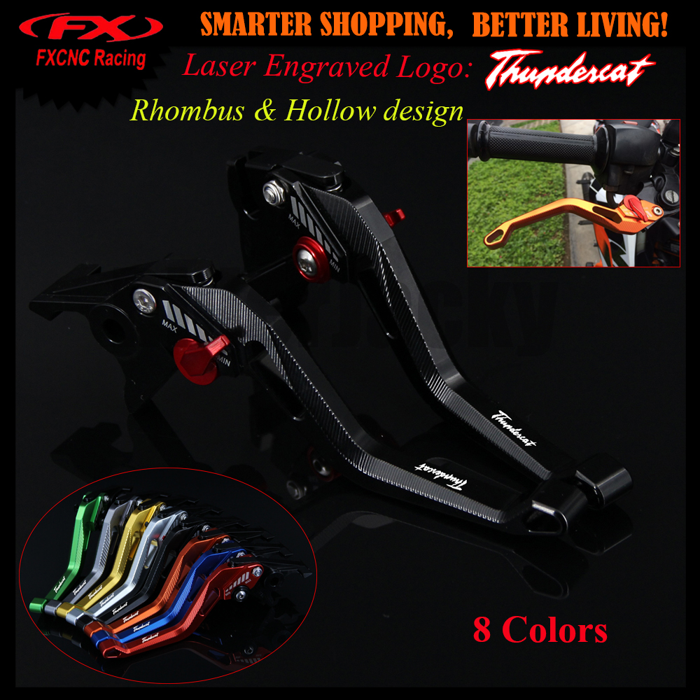 3D design (Rhombus Hollow) For YAMAHA YZF600R Thundercat 1996-2007 1997 1998 Black CNC Adjustable Motorcycle Brake Clutch Lever<br>