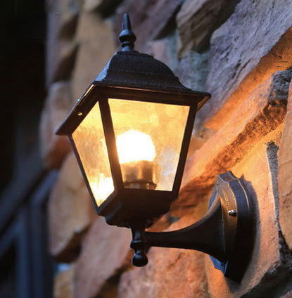 Europe type outdoor wall light outdoor lighting wall lamps waterproof outdoor wall lamp Contains LED bulb free shipping<br><br>Aliexpress