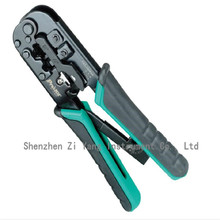 ProsKit CP-376TR 4P/6P/8P Telecom Crimping Tool (190mm) Plastic steel Cable network crystal head crimping pliers(China)