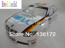 Ewellsold 1/10 RC drift Car accessories/parts 1:10 painted car PVC Shell Body 190mm (No:017W)free shipping(China)