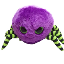 Ty Beanie Boos Original Big Eyes Plush Toy Doll Child Brithday 10 - 15cm Purple Spider TY Baby For Kids Gifts