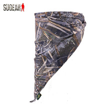 Outdoor Hunting Protective Half Face Scarf Military Camouflage Balaclava Anti-sweat Mask Windproof Cycling Fishing Face Guard