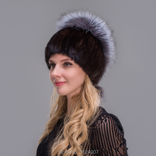 Mink fox fox fur hat cap cover ear ear winter female Korean color fur hat children winter tide(China)