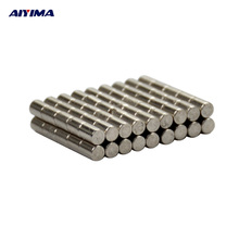 AIYIMA 100pcs D2*3mm Round Dia Crafts Magnets Rare Earth Neodymium Magnet 2mm*3mm Counter Magnetic Tape Magnetizer 2x3