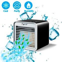 Удобный Новый портативный мини-кондиционер увлажнитель воздуха охладитель воздуха пространство Легкое Охлаждение очищает большой вентил...