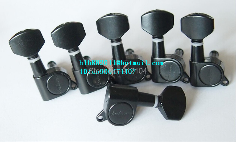 free shipping new electric guitar tuning peg guitar button in black for the side of the guitar  8150<br>