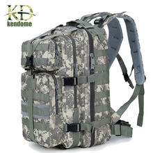 2017 Top Quality 35L High Quality Waterproof Men Women 3P Military Backpack Large Capacity Trekking Backpack Mochila Escolar
