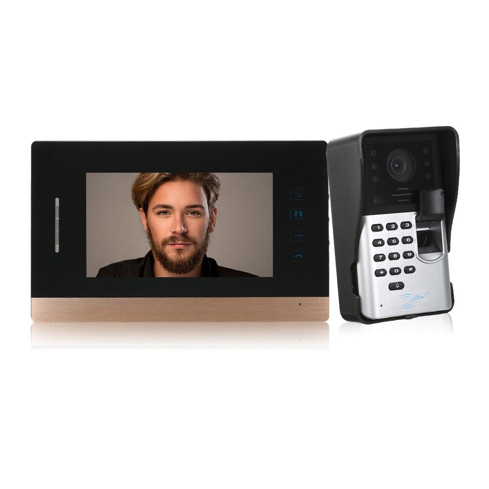4-wired Audio Türsprechanlage Mit Hand-free Indoor Einheiten Id Karte Entsperren Seien Sie Im Design Neu Xinsilu Intercom System Audio Tür Telefon Für 10 Wohnungen