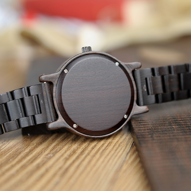 Zegarek drewniany Bobo Bird Black P10 12