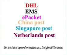 Service Link for extra shipping cost or freight difference