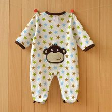 Newborn Baby Clothing Infant Cotton Long Sleeve Baby Boy Girl Wear Baby Rompers  Bebe Overall Clothes