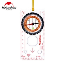 NatureHike Camping Directional Cross-country Race Hiking Special Compass Baseplate Ruler Map Scale Compass Equipment Bussola