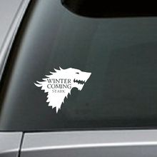 Free Shipping Stark Vinyl Car decal, Game of Thrones sticker