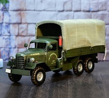 Retro Metal Crafts Military Vehicles Model Car The Shop Window Decorative Articles Props  Home Furnishing Articles Iron Collecti