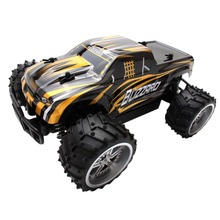 M89C1:16 High Speed 4WD Remote Radio RC Racing Control Car Off Road Model Gold Toys Gifts New