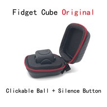 ZHAOKAOFEI Original Fidget Cube with Clickable Ball Puzzles & Magic Fidget Cubes Toy 3.3cm Toys & Hobbies for Gift