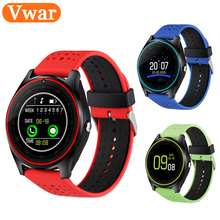 Buy Bluetooth Smart Watch V9 DZ09 Camera Smartwatch Pedometer Health Sport MP3 Clock Hours Men Women Smartwatch Android IOS for $28.20 in AliExpress store