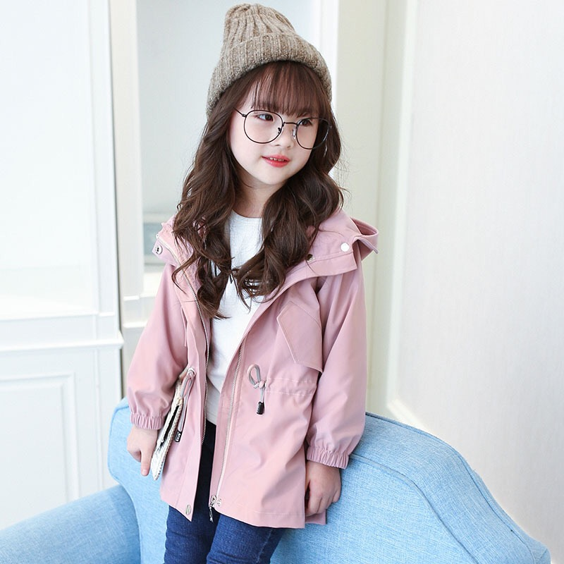 New 2017 Autumn Baby Girls Greatcoat Kids Cartoon Coat Long Style Children Cute Coat Girls Toddler Jackets,3-8Y,#2209<br>