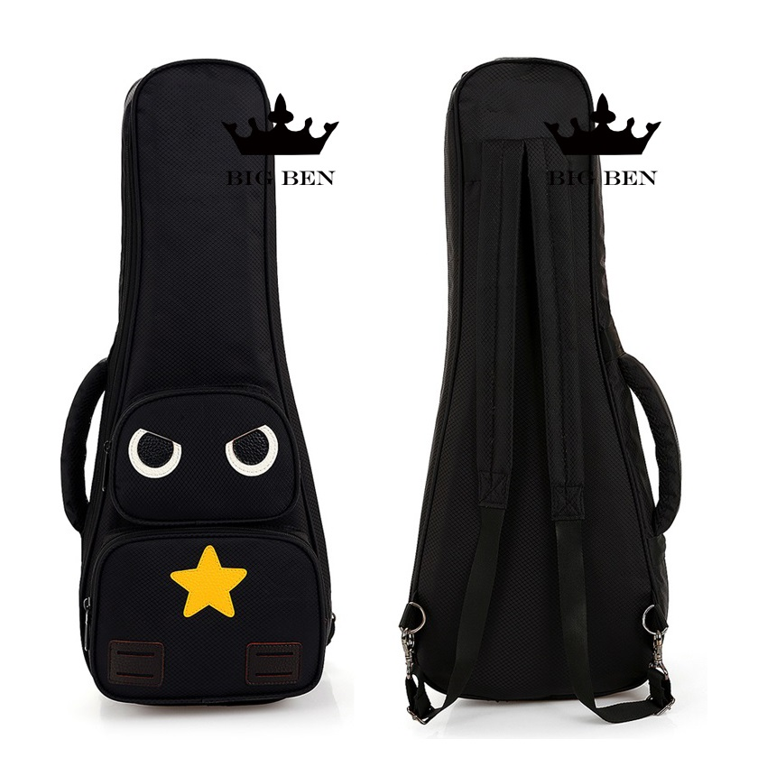 freight free 21inch Ukelele backpack 23inch little guitar bag, 26inch thickening damping effect Ukulele bag individual character<br>
