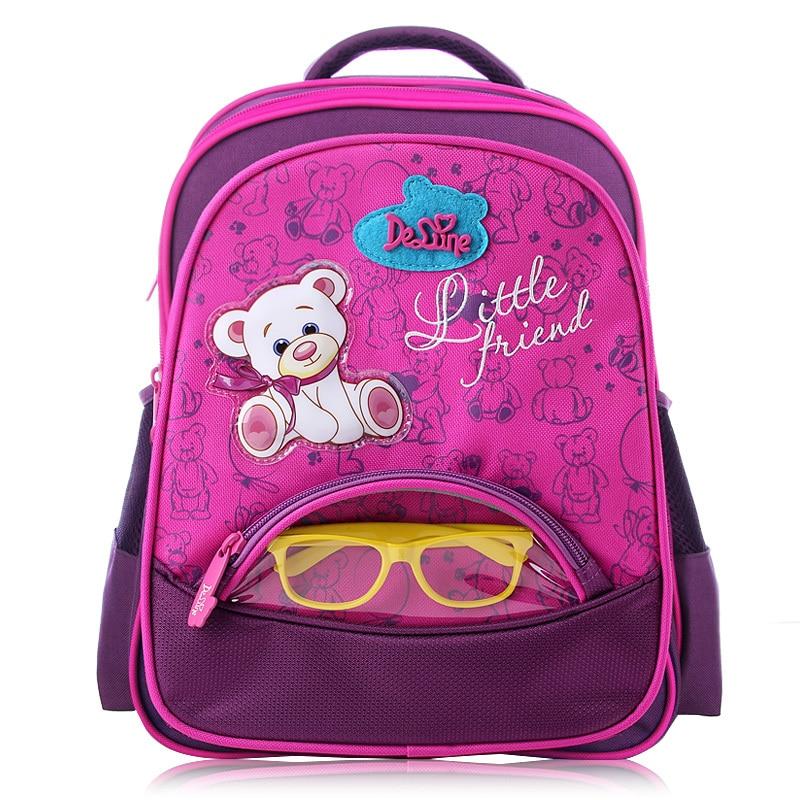 Girls School Bags Orthopedic Princess Schoolbags Children Backpack boys Cartoon Bear Car Primary Bookbag Kids Mochila Infantil<br><br>Aliexpress