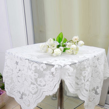 NEW Beautiful Lace Embroidery Tablecloth Dining Center Table Decoration Round Square Rectangle Oval(China)