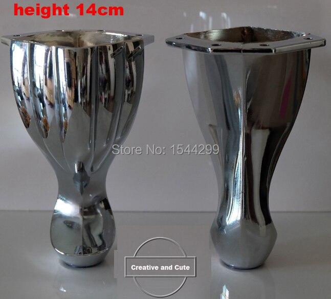 4pcs Metal Furniture Cabinet Tea Table Sofa Leg Feet 5.6(140mm) Height Furniture Caster<br><br>Aliexpress