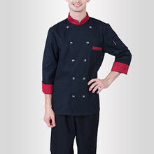 New Arrival Unisex Kitchen Chef Uniforms Long Sleeve Restaurant Uniforms Men and Women Chefs Work Wear