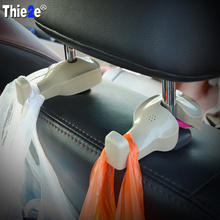 Car Shopping Bag Holder Seat Hook Hanger For Fiat punto abarth 500 stilo ducato palio bravo doblo Lifan X60 320 620 330(China)