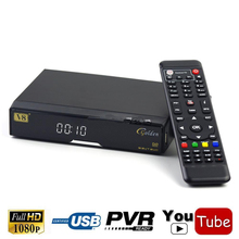 Genuine Freesat V8 Golden + T2 + C Cable HD + USB Wifi DVB-S2 Satellite AC3 Receiver WIFI Ethernet Youtube(China)