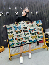 Track Ship+New Arrival US EURO Plus Size M L XL XXL XXXL Fashion Dress Specimen Beautiful Butterfly Butterflies Old Style 0299(Hong Kong)