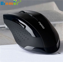 Binmer Advanced hot 2.4GHz Wireless Mouse computer mouse  Optical Gaming  Mice For Computer PC Laptop  1 piece