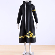 Japanese Anime One Piece cosplay Trafalgar Law Coat 2 years laterr Costume adult long gown wholesale