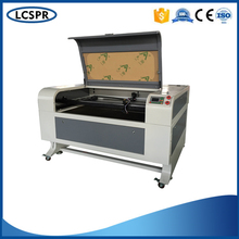 SP-1390 fabric laser cutting machine with auto up and down table RUIDA driving system and stepper motor(China)