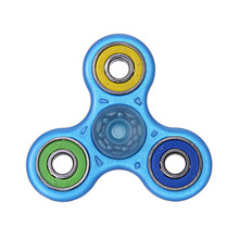 Hot!LED Glowing Hand Spinner focus Toys EDC Fidget Spinner Toy Austism ADHD Education&Learning Toys Choice GIFT May9