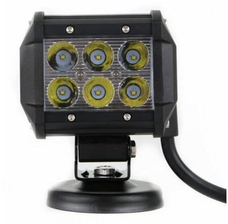 High quality DC10-30V,6*3W led work lights,front headlamp,waterproot IP 68(without base)<br><br>Aliexpress