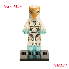 Pogo Iron Man Mark 39 Diy Dolls Single Sale Super Heroes Illuminati Star Wars Models Building Blocks Toy Gift Children Xh228 - MITU BLCOK Store store