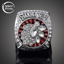 SOXY  2013 Chicago Black Hawk Captain Jonathan Tafos Stanley Cup NHL Championship Ring