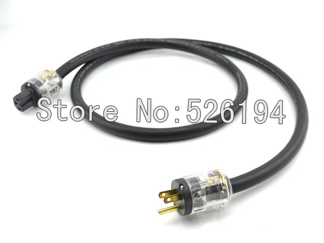Free shipping 1.5meter/pieces Cardas Audio Audiophile Main Power Cable hifi audio power cable with P-029&amp;C-029 connections<br>