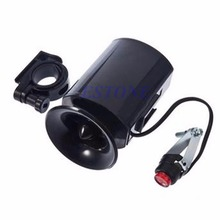 New 2017 arrival Speaker Bike Bicycle Waterproof 6 Sound Electric Horn Klaxon Bell Alarm Siren