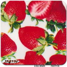 iTAATOP TSSY115 0.5M*10M Strawberry Design Hydro Dipping Liquid Dipping Films Water Transfer Printing Film(China)
