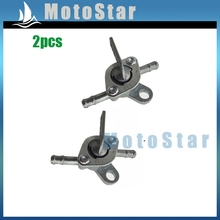 2x Gas Fuel Tank Switch Tap Petcock Valve For Chinese ATV Quad 4 Wheeler Dirt Pit Bike Motorcycle 50cc 70cc 90cc 110cc
