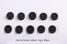 (For Cleaner-A320/A325/A330/A335/A336/A337/A338) Central brush rubber ring 10pcs for Vacuum Cleaning Robot, 10pc/pack(China)