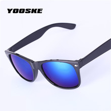 YOOSKE Classics Vintage Sunglasses Women Men Brand Designer Female Male Sun Glasses UV400 Famous Glasses M nail Travel Walker