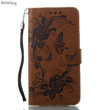BYHeYang PU Leather Case For Samsung Galaxy J7 2017 Cover J730 Wallet Phone Cases For Samsung J7 2017 Case Eurasia Edition(China)