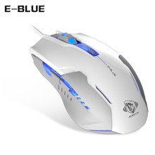 E - BLUE M636 Electric Competition Edition E-3LUE  Optical Gaming Mouse  for 4 adjustable DPI with LED Breathing Light