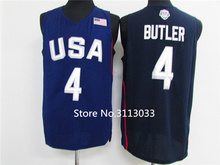 #4 Jimmy Butler 2016 Dream Team usa Basketball Jersey Embroidery Stitched S-XXL(China)