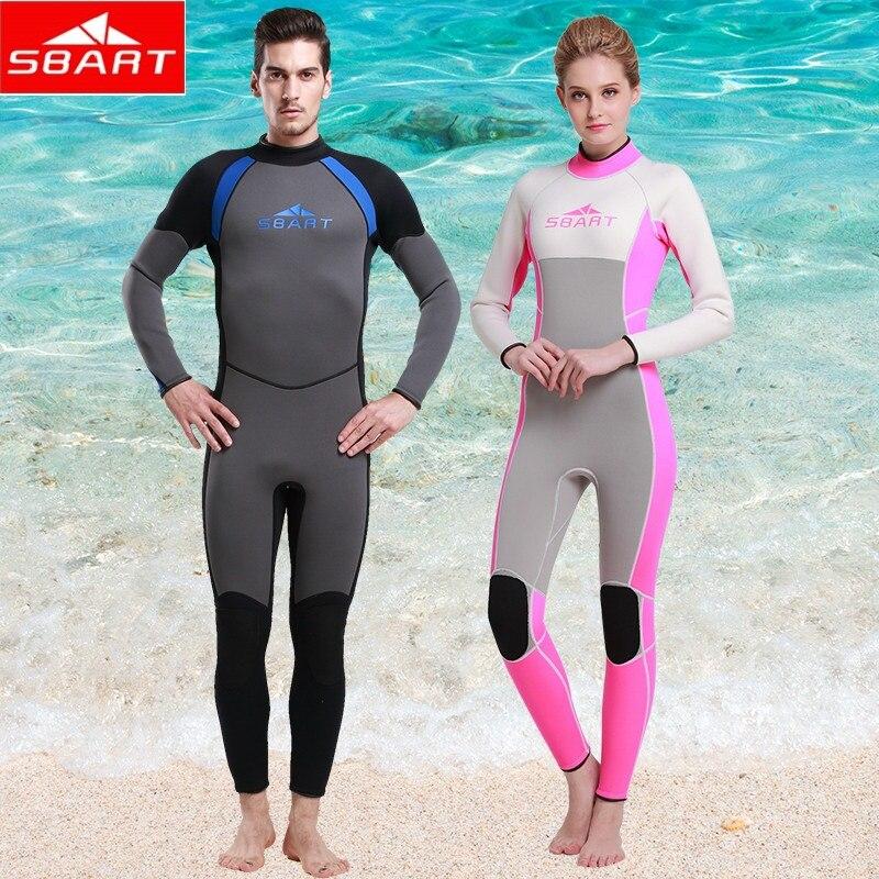 SBART 2015 Neoprene diving Wet suit Women Surfing Wetsuits 3MM Men WetSuits Surfing Spearfishing Wetsuit Diving Suit<br><br>Aliexpress